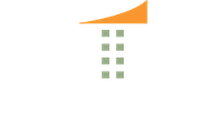 olin white and orange logo